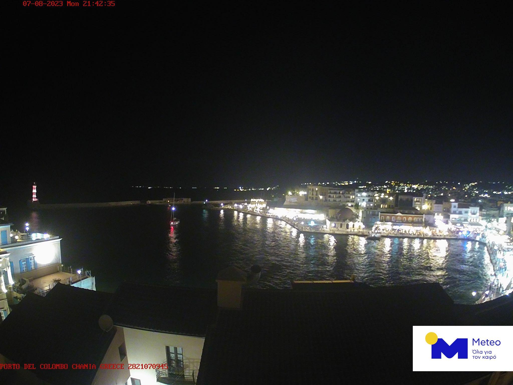 Web-камера острова Крит в онлайне